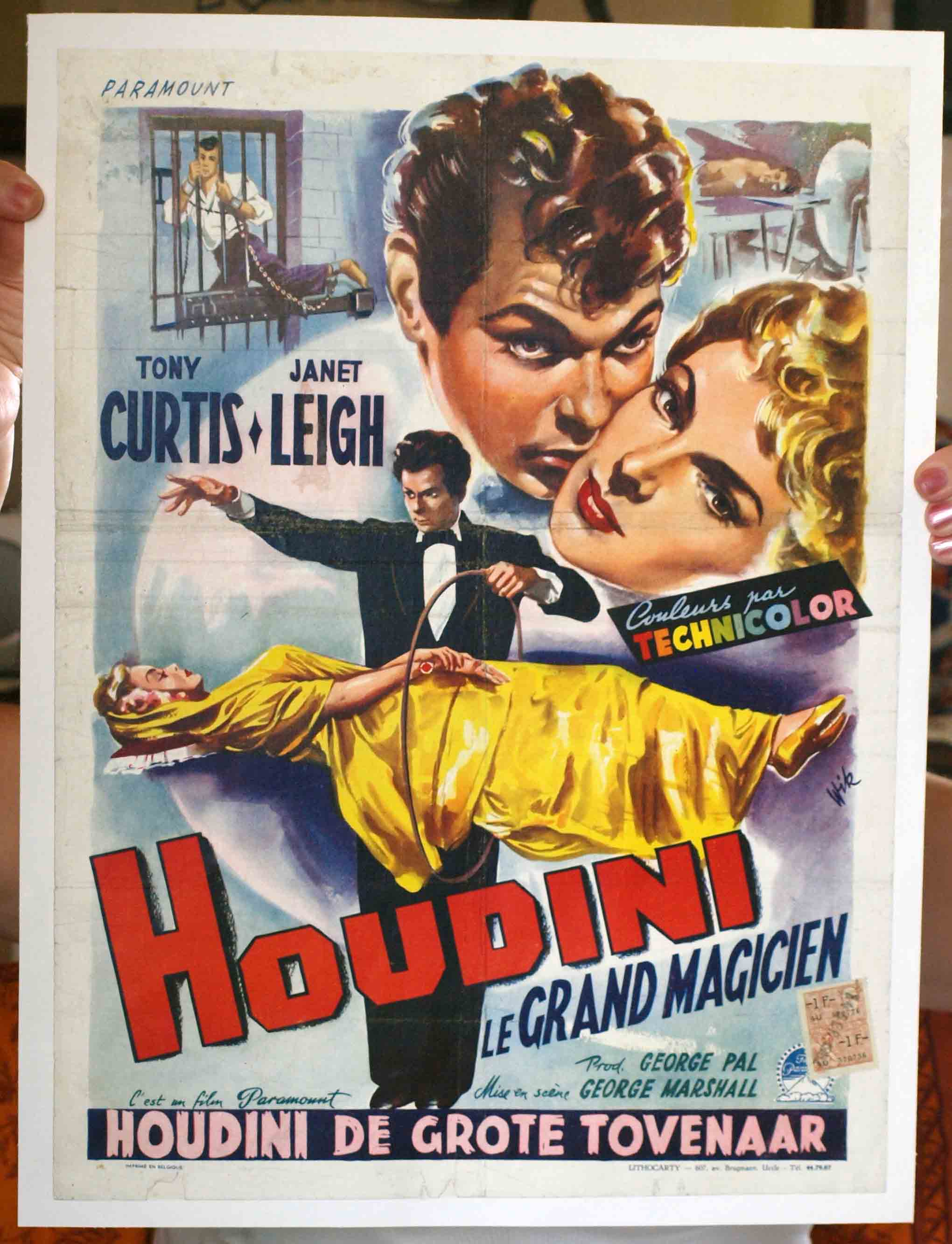 Extra large vintage movie posters